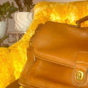 Authentic Vintage Coach Briefcase Bag #B5H-5180